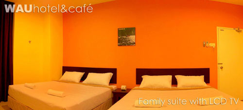 Wau Hote & Cafe Jerantut - Family Suite
